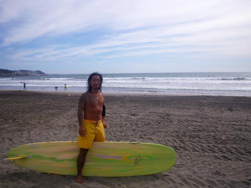 サーフィン由比ケ浜鎌倉