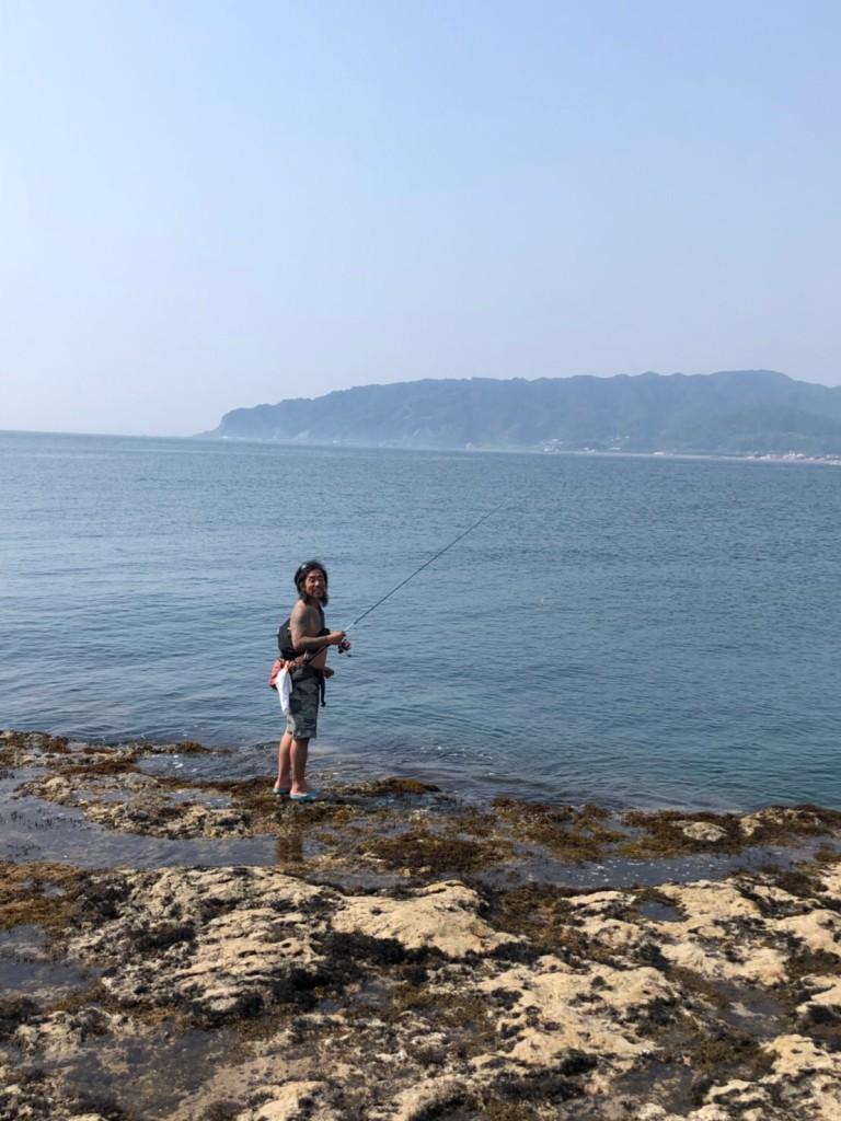 のぶ釣りをする